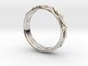 Cut Facets Ring Sz. 8 3d printed