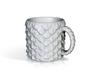 Dragon Scale Coffee Mug  3d printed