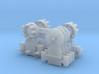 Dwarf B&O CPL-LowerSpdLamps(3) 'O'/027 - 48:1 Scal 3d printed