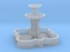 Barbed quatrefoil fountain (TT 1:120) 3d printed