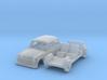 AWZ P70 Limousine (N 1:160) 3d printed