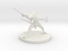 Lizard Warrior - 3D printed miniature 3d printed