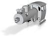PX48 Boiler And Cab 002 Continental TT 1:120 3d printed