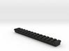 13 slot Keymod Piactinny rail 3d printed