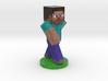 Minecraft Steve 3d printed