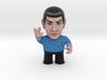 Spock Star Trek Caricature 3d printed Spock Star Trek caricature