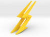 THE FLASH - Cowl & Belt Lightning Bolts 3d printed