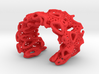 Coral Cuff Bracelet 3d printed
