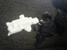 """Centralizer"" RESIZED 5mm post 3d printed Image by Remko. Weapon wielded by Shadow Emissary Hexatron."