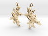 Sampaguita Earrings 3d printed