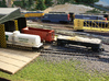Difco Dump Car - Set of 4 - Z scale 3d printed Painted & Detailed by Kevin Smith @kevsmiththai