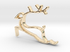 Reindeer Necklace  3d printed