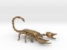 scorpion pendant 3d printed