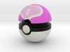 Pokeball (Love) 3d printed