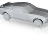 1970 Ford Mustang  3d printed