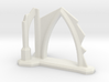 Gothic Arch and Flying Buttress Ruin 6mm Scale 3d printed