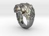 Ring 002 lion 3d printed