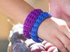 Bracelet Triangulado (sz M/L) 3d printed