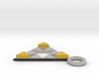 DeusEx Pendant V2 singlesided Hollow 3d printed