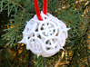 Thorn d12 Ornament 3d printed In White Strong & Flexible