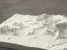 8'' Sedona, Arizona, USA, Sandstone 3d printed Radiance rendering of model, viewed from SSE