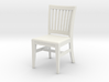 1:24 Courtroom Chair 3d printed