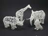 Digital Safari- Elephant (Medium) 3d printed Digital Safari Animals- Giraffe, Rhino, Elephant, Lion