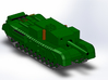 "Churchill A22D 3"" Gun Carrier 1/285 6mm 3d printed"
