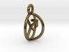 Chiron Key Sagittarius Archer Symbol Pendant 3d printed