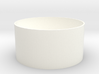 Coin Cup 3d printed Basic cup in white. Always looks good.