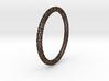 Hex Ring Bangle 3d printed
