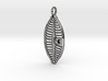 Planothidium Diatom pendant - Science Jewelry 3d printed