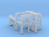 1/144 USN Depth Charge Loader Rack (Starboard) 3d printed