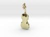 Violin Pendant 3d printed