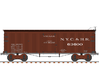 NYC&HR 35' Boxcar  LATE  Version B 3d printed