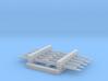1:200 5x Aircraft Towbar 3d printed