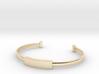 Minimalist Bangle (Sizable) (Personalisation Avail 3d printed