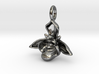 Ophrys Bee Orchid Pendant 3d printed