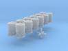 SET 6x Dzkr 501 Behälter (FLM/MTX) (N 1:160) 3d printed