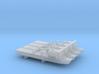Bay-class landing ship x 4, 1/6000 3d printed