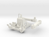 1:6 scale Hasbro HMMWV H24-6 mount and SA10 swing  3d printed