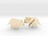 Triceratops Baby Earrings 3d printed