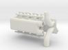 SBC Dual Turbo Intake 1/12 3d printed