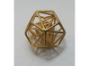 Nested Platonic Solids 3d printed