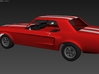 Ford Mustang GT '68 - KIT 01 3d printed