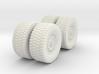 1/72 MATV Wheels 3d printed