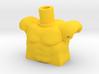 Custom Muscle Torso Lego 3d printed