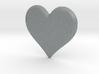 Soft Heart Pendant 3d printed