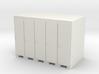 Lockers - OO Scale 3d printed