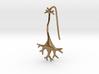 Neuron earring 3d printed